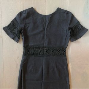 Stone Cold Fox Dresses - Stone Cold Fox Dryden Column Dress in Black Sz 2